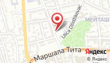 Апартаменты Kosevo 6 Apartment на карте