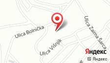 Апартаменты Apartment Lejla на карте