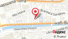 Апартаменты Radiceva Apartment на карте