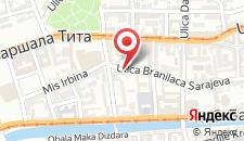 Апартаменты Haris Apartment на карте