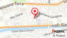 Апартаменты NIMIA Apartment in the heart of Sarajevo на карте