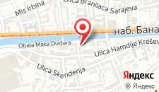 Апартаменты Luka Sarajevo на карте