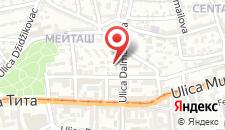 Апартаменты Dalmatinska Apartment на карте