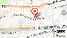 Апартаменты Apartment Sarajka на карте