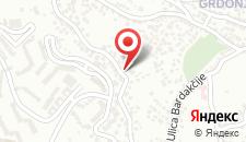 Апартаменты Apartmani Breka на карте