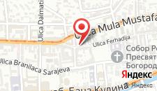 Апартаменты Apartment Nejra на карте