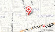 Апартаменты Sunny studio на карте
