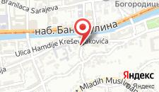 Апартаменты Apartman Sarajevo Centar на карте
