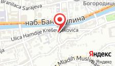 Апартаменты Apartment Center Drvenija на карте