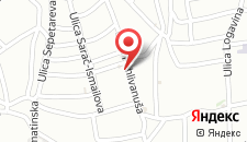 Апартаменты Guest House Bujrum на карте