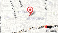 Апартаменты Apartment -Sarajevo на карте