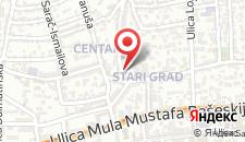 Апартаменты Apartment Saraj-Bosna на карте
