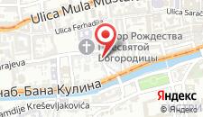 Апартаменты Rejjo Centar на карте