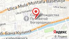 Апартаменты Saraj Apartment Central на карте