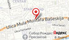 Апартаменты Lamija Apartments на карте