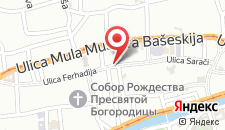 Хостел Hostel Vagabond на карте