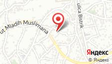 Апартаменты Belma на карте
