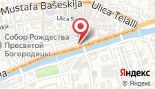 Отель Hotel President Sarajevo на карте