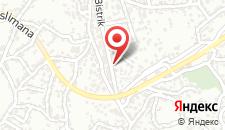 Апартаменты Apartment Dijana на карте