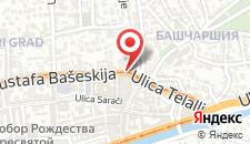 Хостел Ljubicica Hostel на карте