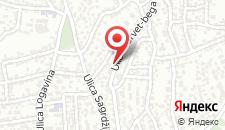 Гостевой дом Guest House Šimšir на карте