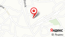 Апартаменты Bistrik Apartment на карте