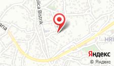 Апартаменты Blue Residence на карте