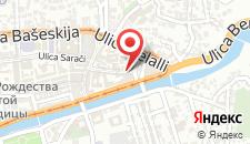 Отель Hotel Old Sarajevo на карте