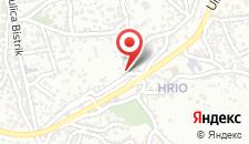 Апартаменты Stari Grad Sarajevo на карте