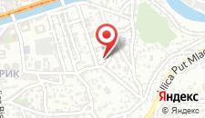Апартаменты Apartment Nord на карте