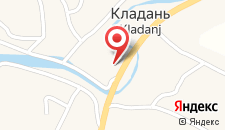 Отель Hotel Bosna на карте