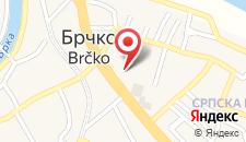 Отель Hotel Jelena Brčko на карте