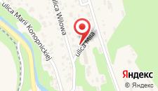 Апартаменты Tęczowe Wzgórze на карте