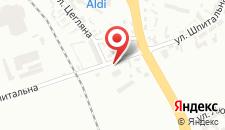 Отель Hotel Aleksander на карте