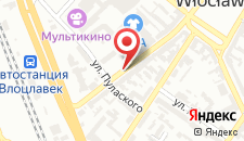 Отель Hotel Kujawy на карте