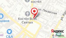 Отель Hotel Rozbicki на карте