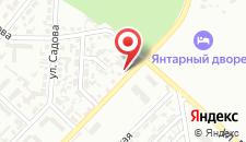 Отель Pałac Bursztynowy на карте