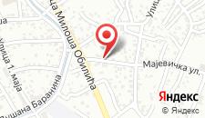 Мотель Motel Azzurro на карте