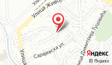 Апартаменты Potkrovlje Apartment на карте