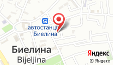 Отель Drina Hotel на карте
