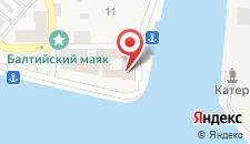 Гостиница Золотой якорь на карте