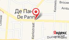 Отель ibis De Panne на карте