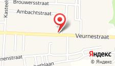 Отель De Zandhoorn на карте