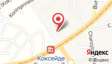 Апартаменты Residentie Koksijde promenade на карте