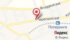 Отель Holiday Home Poperinge на карте