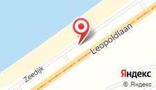Апартаменты Bed and Beach Middelkerke на карте