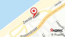 Апартаменты Residentie Kursaal ref 78 на карте