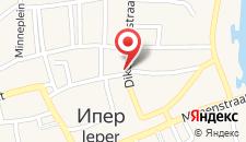 Апартаменты Apartments Ypres на карте