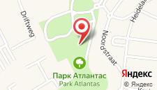Апартаменты Park Atlantis на карте