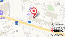 Санаторий Янтарь на карте